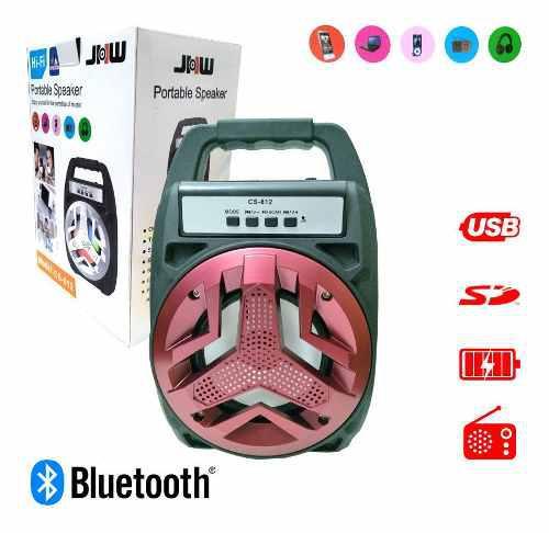 Corneta Portátil Recargable Inalambrica Bluetooth Usb