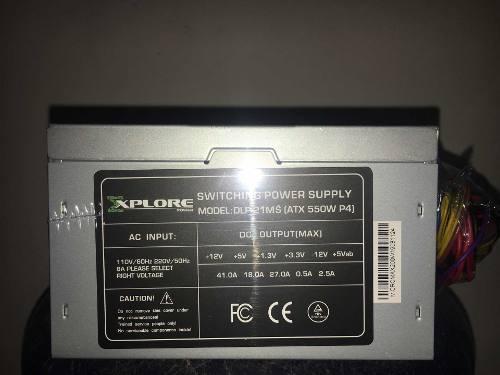 Fuente De Poder Explorer Power 550 30 D Gattia Tienda Oferta