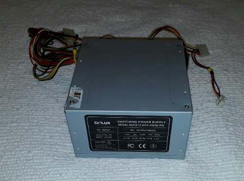 Fuente De Poder Para Pc De 550 Watts