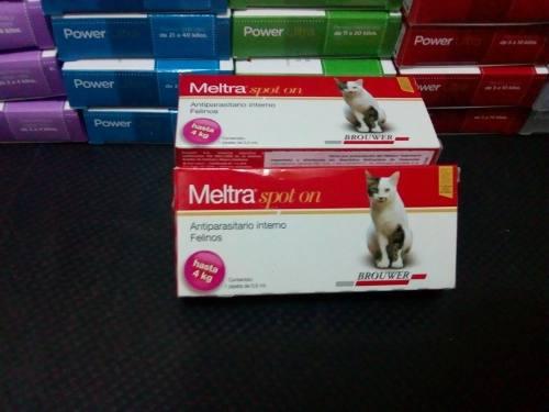 Meltra Spot On Antiparasitario Interno Para Gatos De 0 A 4 K