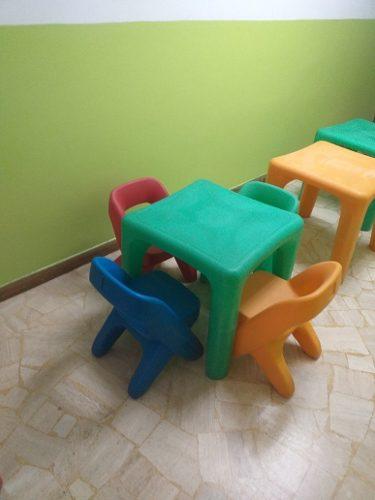Mesas Y Sillas Preescolar