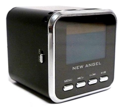 Mini Corneta Angel Portatil Reproductor Mp3 Mp4 Micro Sd Usb