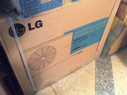 Aire Acondicionado Lg Plasma Multi Split M363cs  Btu
