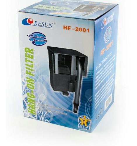 Filtro Cascada Para Acuario Marca Resun Hf- L/hora