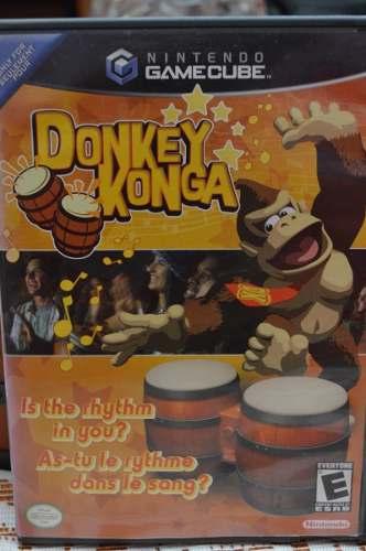Juego Donkey Konga, Nintendo Gamecube