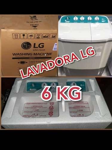 Lavadora Lg Semi Automatica 6 Kilos Nueva A Estrenar..