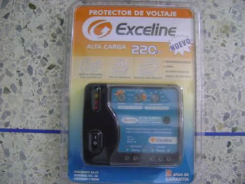 Protec. Volt. Exceline Alta Carga 220v Refrigerador Aires