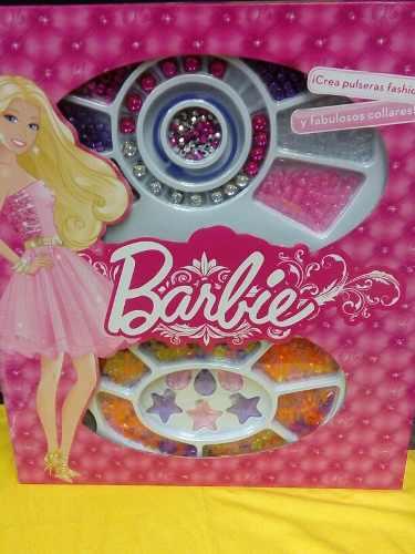 Set Para Hacer Pulseras Y Collares Barbie