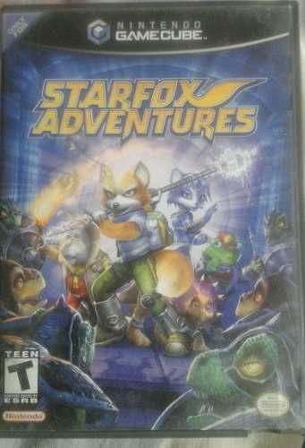 Starfox Adventures Juego De Nintendo Game Cube