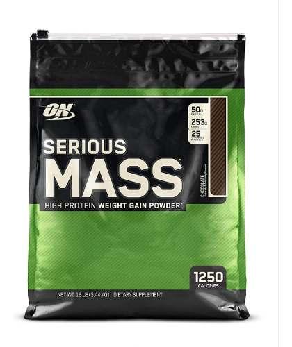Vaso Mezclador Serious Mass Optimum Nutrition
