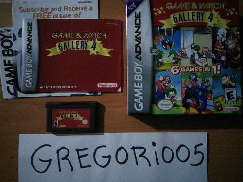 Game & Watch Gallery 4 Completo, Precio V