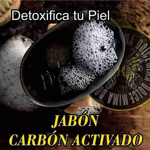 Jabón Blanqueador De Carbón Activado De Coco