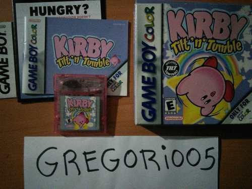 Kirby: Tilt 'n' Tumble Game Boy Color, Completo Precio V!