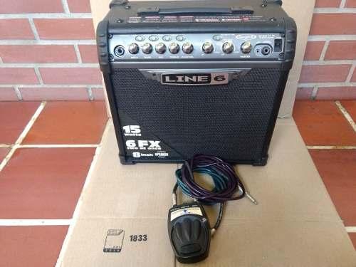 Amplificador De Guitarra Líne 6 Spider Iii 15 Watts