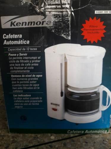 Cafetera Kenmore 12 Tazas