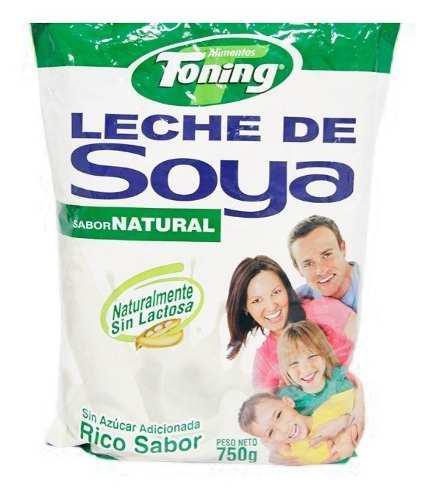 Leche De Soya, Leche Sin Lactosa, Sin Azucar