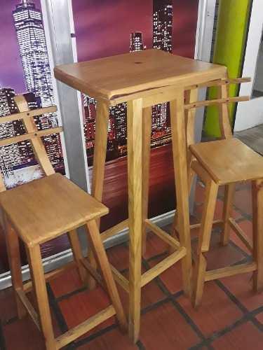Mesa Con Sillas Altas Para Restaurantes Cafes