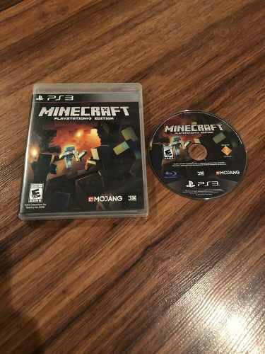 Minecraft Juego Original Para Playstation 3 Ps3