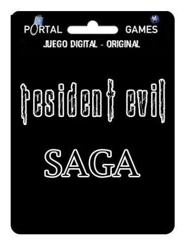 Saga Resident Evil Completa Para Ps3
