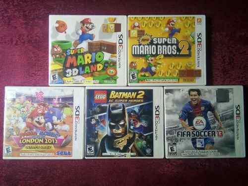 Vendo O Cambio Juego 3ds Mario Sonic Lego Batman Fifa Spider