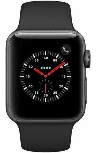 Apple Watch Series 3 38mm Gps Space Gray Sellado!