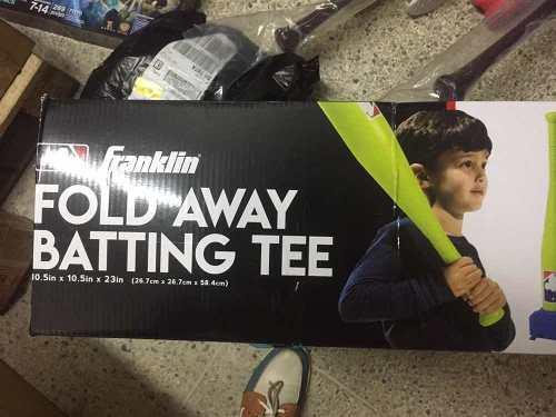 Juego De Batting Tee Franklin Real Para Practicar Bateo!