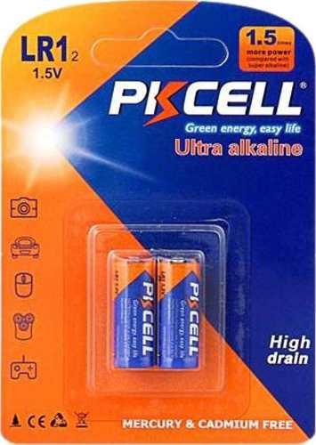 Pila Bateria Lr1 N Pkcell Blister De 2 Unid Vencimiento