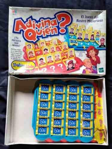 Adivina Quien Original Hasbro Juego De Mesa