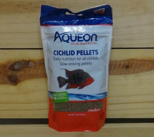 Alimento Comida Peces Ciclidos Aqueon Color Enhancing 213grs