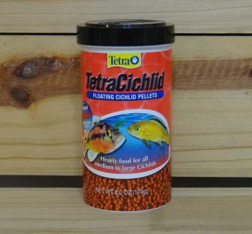 Alimento Comida Peces Ciclidos Tetra Cichlids Pellets 170grs