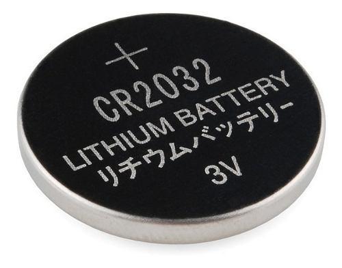 Bateria Pila Boton 3v Control 2032 2016 2025 Reloj Pc 6 Unid