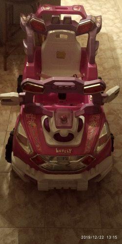 Carro A Control Remoto Para Niña Con Luz Y Mp3