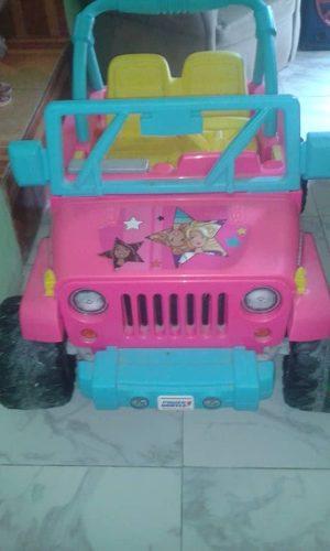 Carro Jeep Electrico De Barbie, Se Encuentra En Caracas