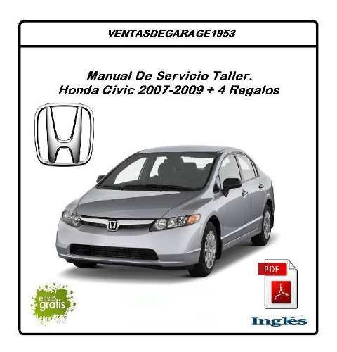 Honda Civic  Manual De Taller Servicio