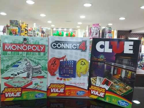 Juegos De Mesa Viajeros Originales Hasbro Tienda