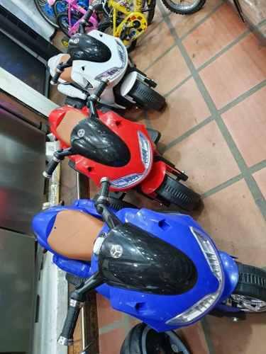 Moto De Batería Recargable Para Niños Y Niñas
