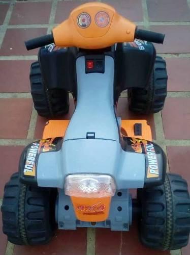 Moto Eléctrica 4 Ruedas Para Niños