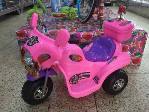 Moto Motocicleta Eléctrica A Batería Juguete Niñas Niños