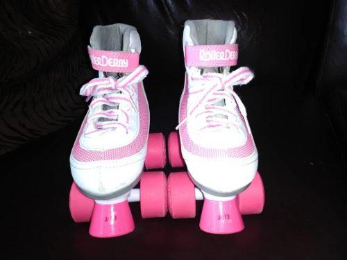 Patines Roller Derby Originales De Nina