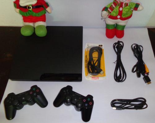 Playstation 3 320 Gb + 2 Controles + Cámara + 10 Juegos