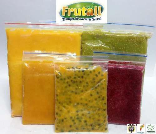 Pulpas De Frutas Buena Calidad 100% Natural