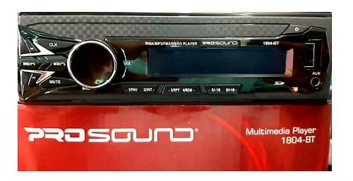 Radio Reproductor Bluetooth Usb Sd Multimedia Nuevo 50vdrs