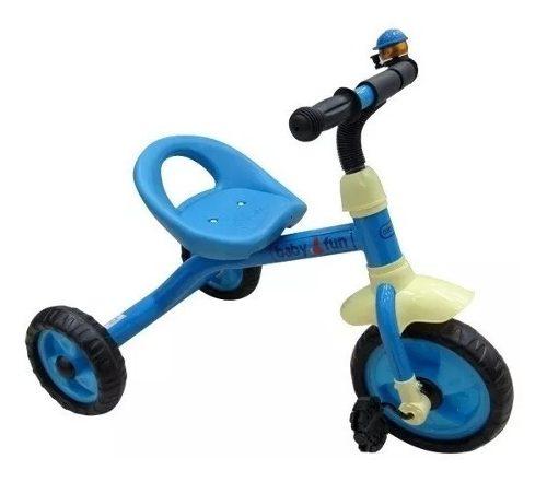 Triciclo Infantil Para Niños Sonido Juguete Baby Fun New