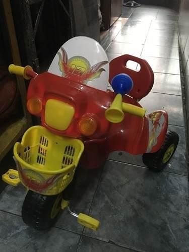 Triciclos Para Niñas Y Niños Con Forma De Moto De Policia