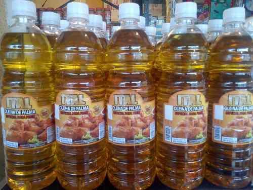 Aceite Vegetal Comestible Oleina De Palma Refinado Caja 12l