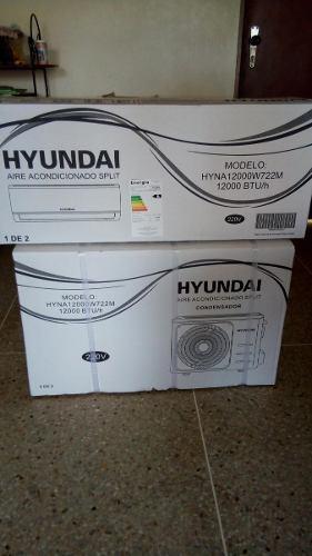 Aire Acondicionado Split 12000 Btu 220v Digital Hyundai