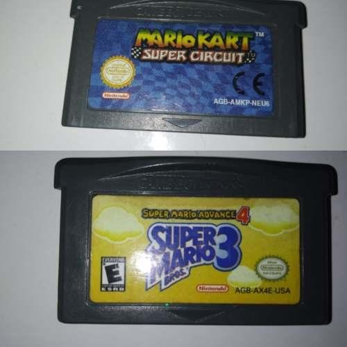 Combo De Juegos Super Mario Bros 3 + Mario Kart