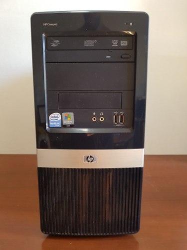 Computadora Cpu Hp Intel Dualcore 3.2ghz Ram 2/4gb Dd 500gb