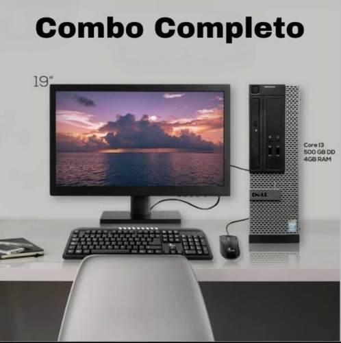 Computadora Lenovo Core I3 4gb Ram 500gb Discoduro Nueva