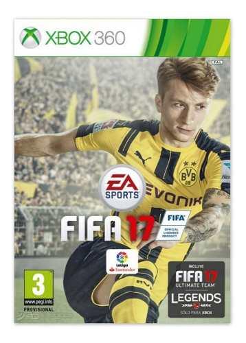 Fifa 17 Juego Para Xbox 360 Totalmente Original
